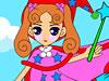 小公主填色