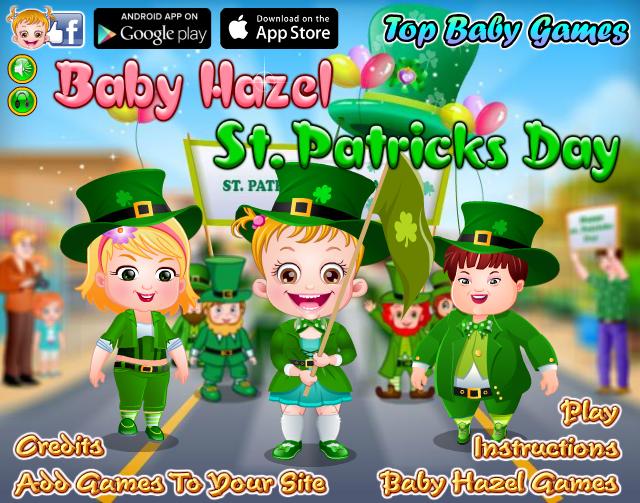 【可爱宝贝的圣帕特里克节小游戏】免费在线玩
