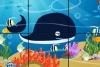智力拼图海洋生物