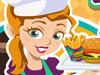 美女汉堡快餐店