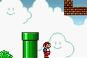 超级玛丽采蘑菇游戏