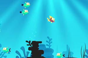 深海吞吃鱼