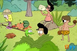 丛林狩猎食物大战