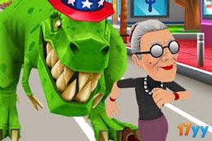 愤怒的老奶奶玩酷跑迈阿密篇