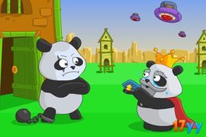 冷库的熊猫