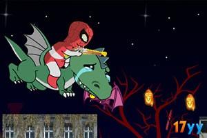蜘蛛侠过万圣节
