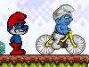 蓝精灵自行车冒险