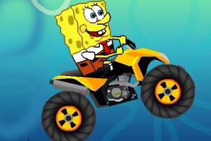 海绵宝宝摩托车