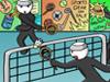 火柴人打羽毛球中文版