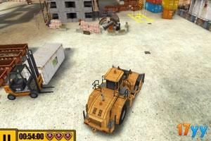 3D建筑工地停车