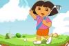 朵拉爱打高尔夫球