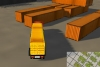 3D运输大卡车