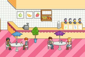 布置果汁店