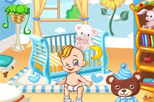 布置小婴儿的卧室