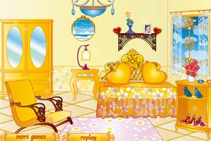公主女孩房间装饰