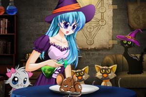 女巫炼制老鼠