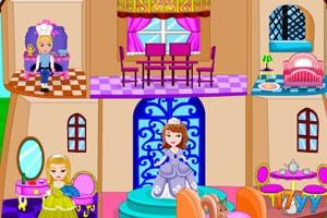 索菲亚的城堡玩具屋