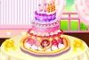 制作公主蛋糕