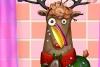 凌乱的小麋鹿
