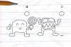 铅笔画小人3