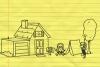 铅笔画小人11