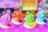 五彩纸杯蛋糕