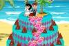 爱情岛婚礼蛋糕
