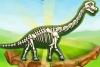 挖掘恐��化石
