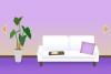 逃出清新紫色房间