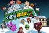 卡通明星打雪仗2