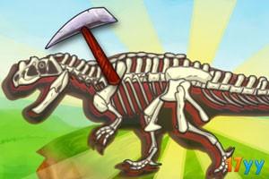 挖掘恐龙化石(恐龙化石考古挖掘)