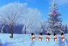圣诞节逃离雪山