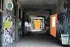 废弃学校走廊逃生