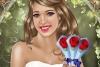 婚礼精美化妆