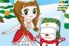 公主和雪人