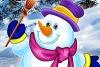 可爱圣诞雪人