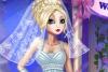 苹果公主的婚纱装扮