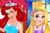 迪士尼公主化妆大赛