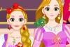 长发公主时尚装扮