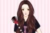 帅气吉他女孩
