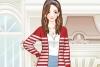时尚条纹毛衣