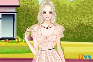 美丽的欧根纱裙
