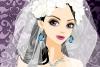 美丽的新娘面纱