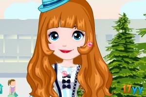 索菲亚公主返校时尚