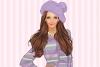 蓝紫服饰装扮